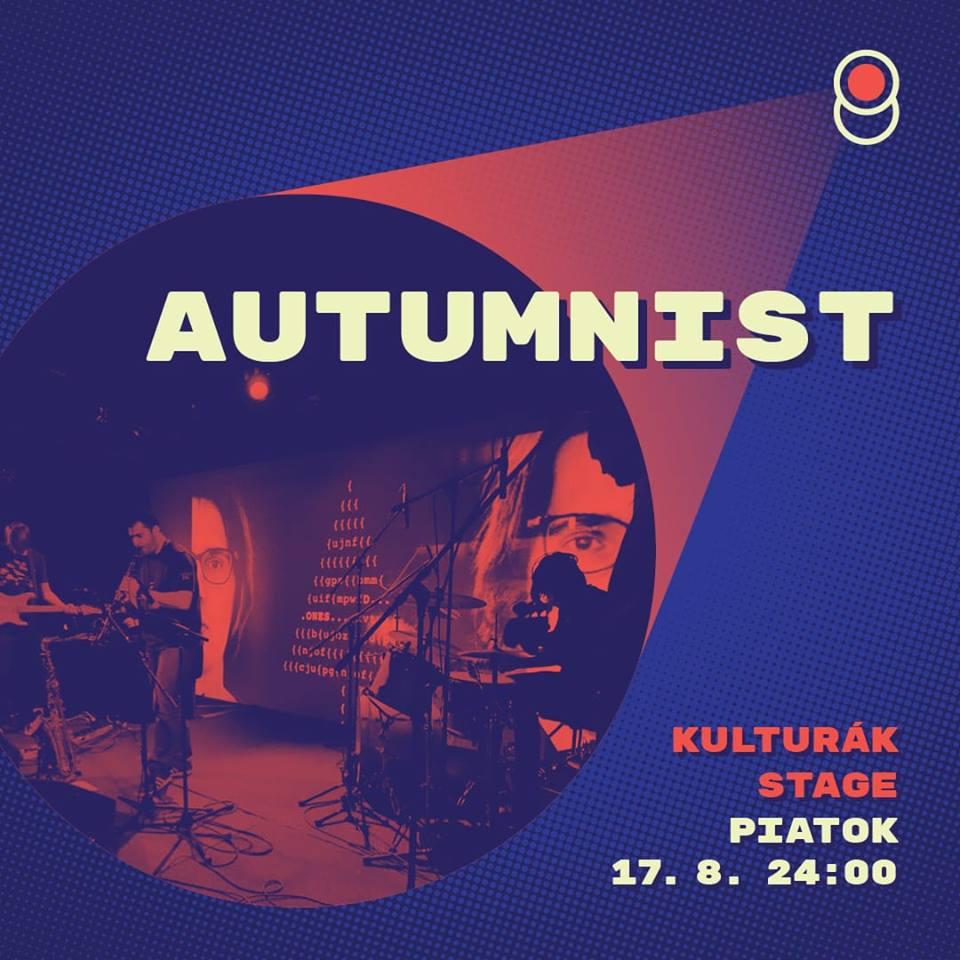 Autumnist at Hviezdne Noci Festival 2018