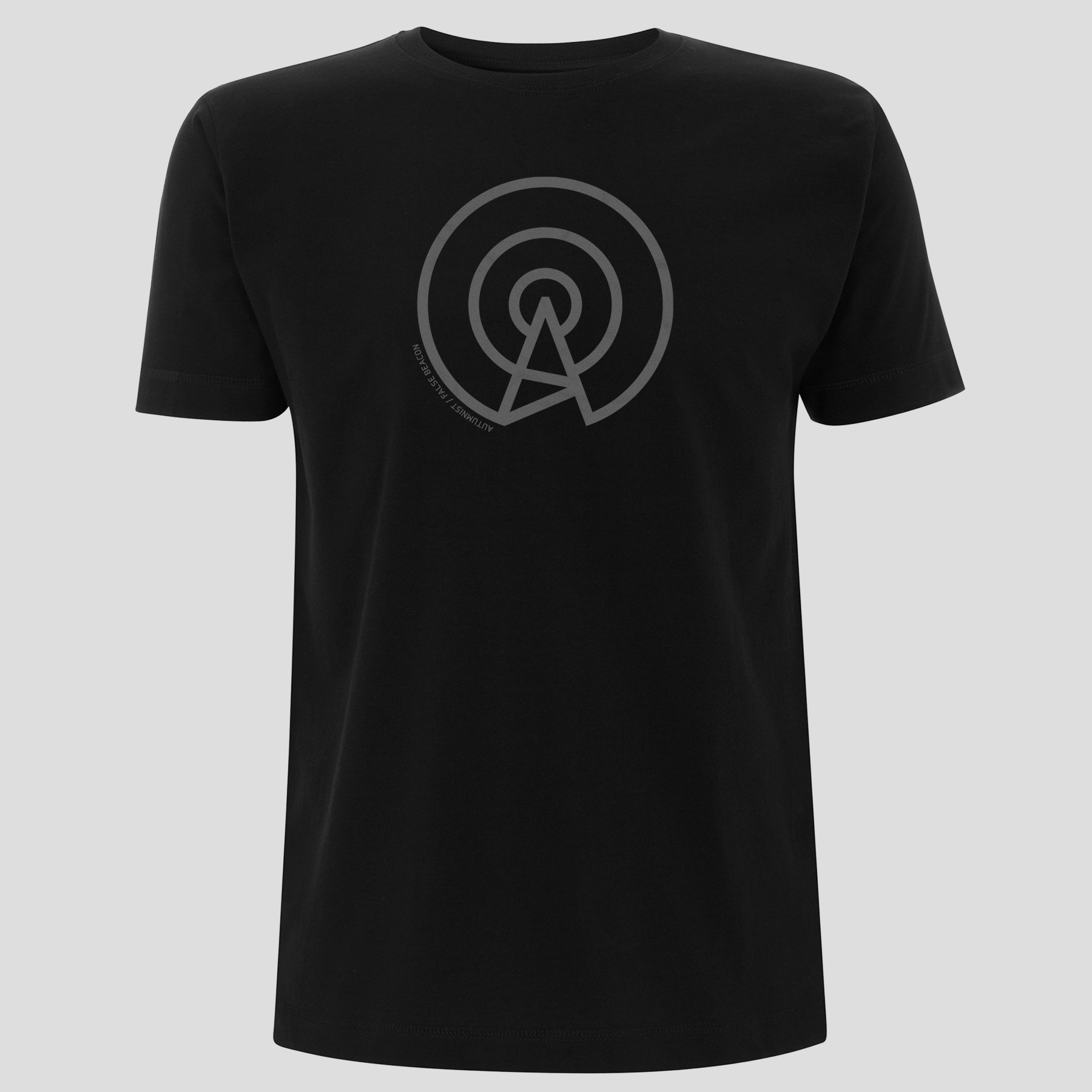 Autumnist - False Beacon (T-Shirt, Men, Black-Grey)